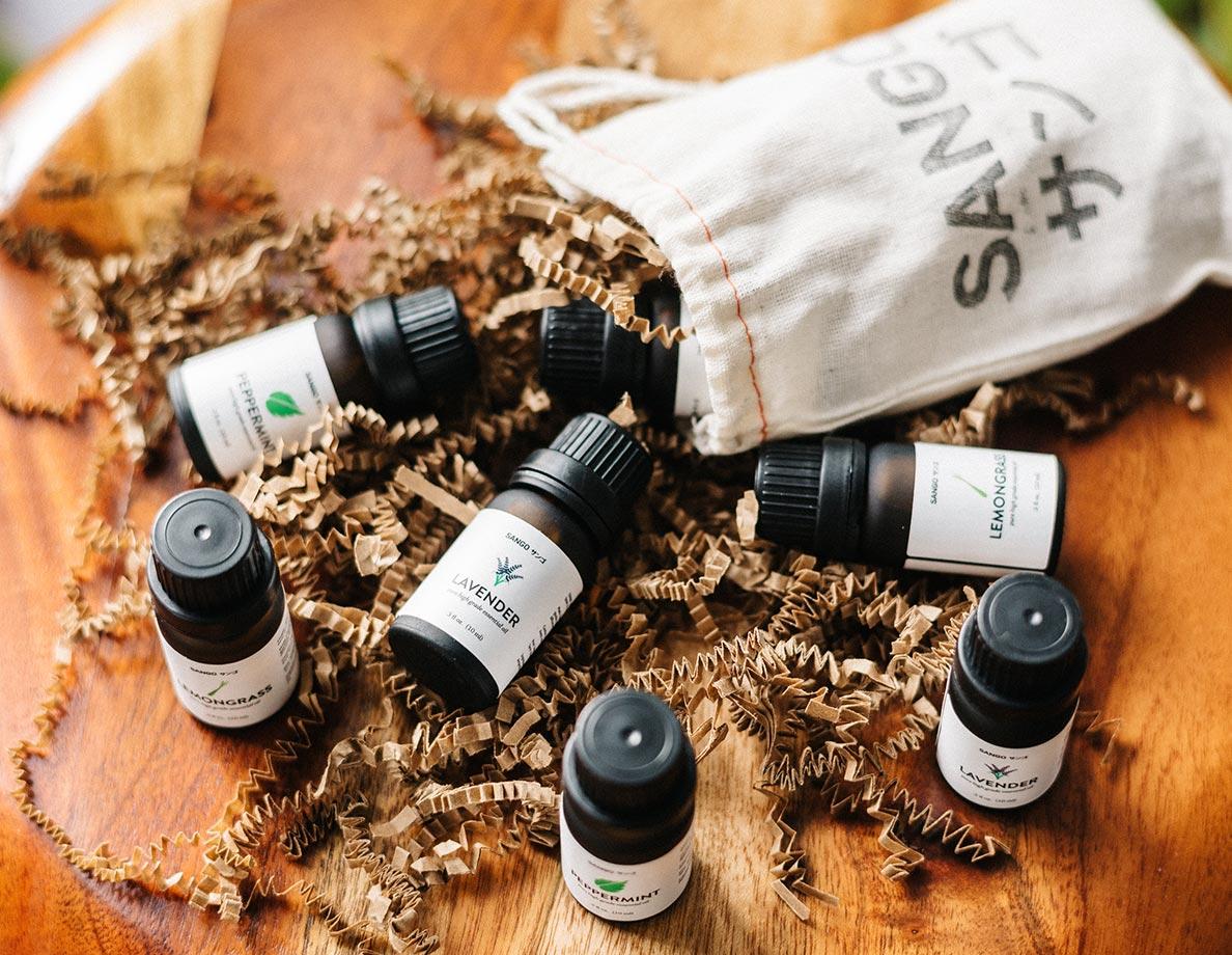 A year of essential oils